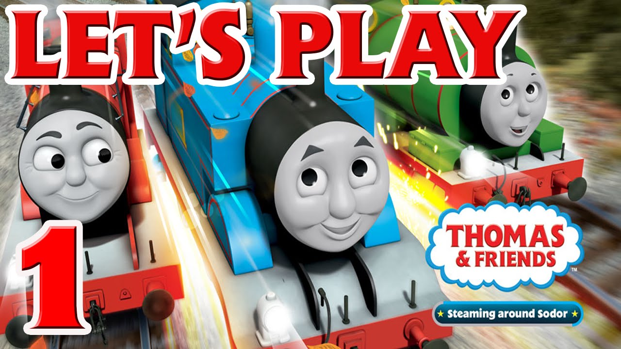 Let's Play Thomas & Friends Steaming around Sodor (3DS) - Part 1 ...