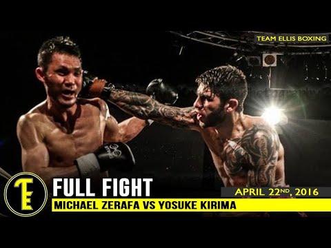 Michael Zerafa vs Yosuke Kirima - Once Upon A Time At The Melbourne Pavilion