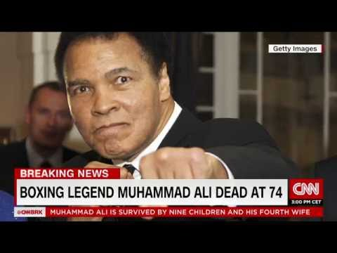 Breaking: Muhammad Ali, the greatest boxer, dead at 74