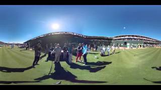 Behind the scenes: PGA TOUR LIVE in 360