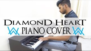 Diamond Heart - Alan Walker - Piano Cover
