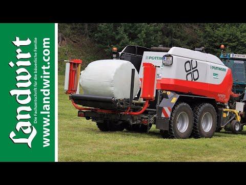 Pöttinger Impress 155 VC Pro Press-Wickelkombination   landwirt.com