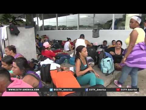 Central America row over transit visas issued to Cubans