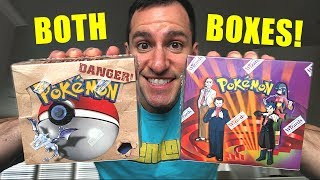 OPENING A FOSSIL AND GYM CHALLENGE POKEMON BOOSTER BOX! (Pokemon Cards)
