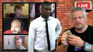 ayzee Appearance On The Mac Show 25 September 15 iPhone 6S Plus Unboxing