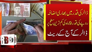 Pakistani Rupee Falls Again, US Dollar Hits Last 9 Month Highest Value, USD & PKR, Dollar Rate today