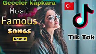 Geceler kapkara zulmat original female Full Song | Most popular Derdim Turkish 🇹🇷 Remix song Resimi