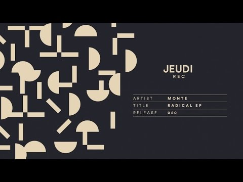 JEU020 I Monte - Radical (Man Power Remix)