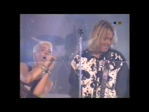 Roxette Sleeping in my car-Run to you-Joyride (TV show Argentina 6-4-1995)
