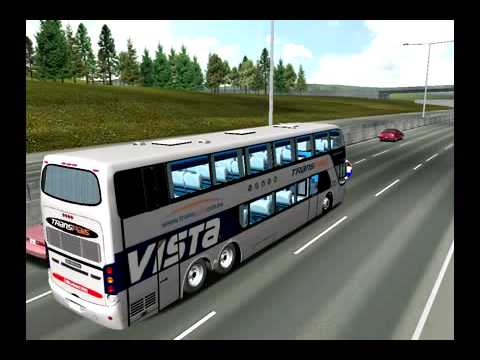 Skin transpais aun con detalles youtube - Autobuses larga distancia ...