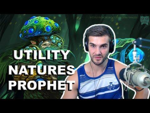 Natures Prophet 7.06 Utility Build: Mekansm - Rod of Atos - Solar Crest