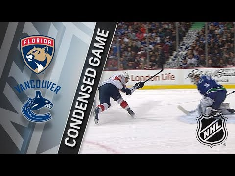 Florida Panthers vs Vancouver Canucks – Feb. 14, 2018 | Game Highlights | NHL 2017/18. Обзор