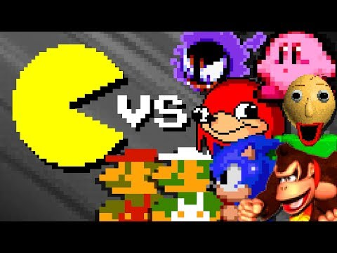 PACMAN Vs FAMOUS Characters - Season 1 (Official Series)