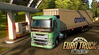 Euro Truck Simulator 2: LEVANDO CERVEJA e FISCALIZAÇÃO!!!