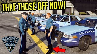 MASPRP #2 - OUR DRILL INSTRUCTOR SNAPS! (GTA RP)