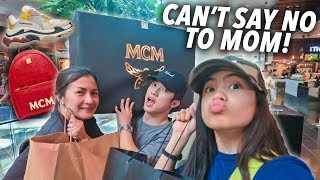 Can't Say No To Mom Challenge!? (Surprise!!) | Ranz and Niana