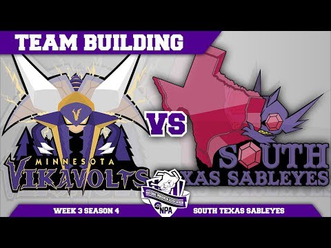 Minnesota Vikavolts Team Building NPA S4 W3: VS South Texas Sableyes | Pokemon Ultra Sun and Moon