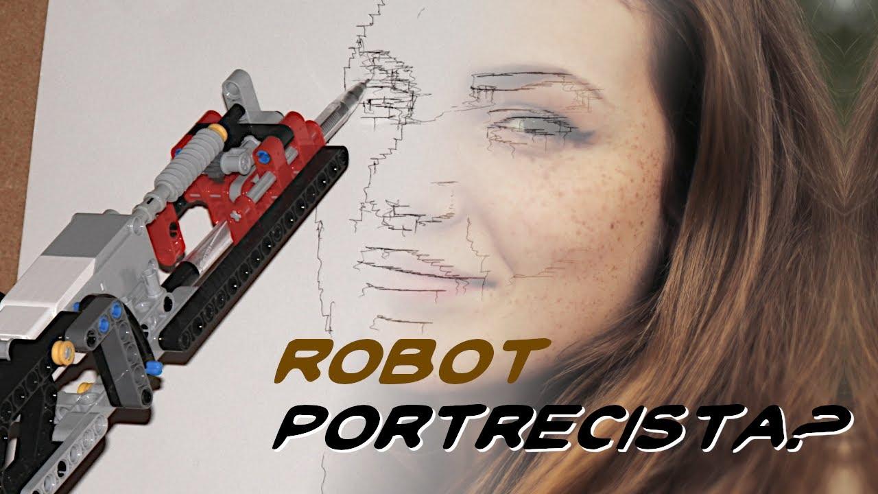 Robot-portrecista (?)