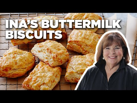 Recipe Of The Day: Ina's Buttermilk Cheddar Biscuits   Food Network