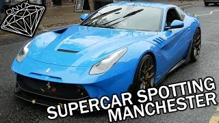 Supercar Spotting Manchester Ferrari Onyx F2X McLaren 720s 570s and more