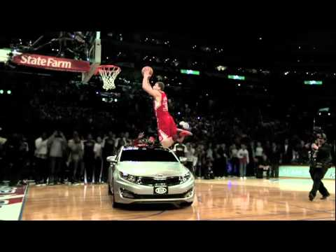 New Blake Griffin Jump Over Kia Optima Commercial
