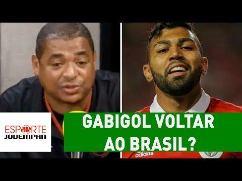 OLHA o que VAMPETA acha de GABIGOL voltar ao BRASIL!