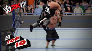"Jaw Dropping ""OMG"" Moves: WWE 2K17 Top 10"