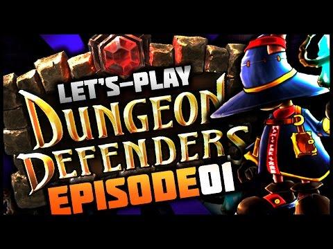 Dungeon Defenders Ep 1 w/ TheKingNappy, ShadyPenguinn, TheHeatedMo, & VegasJamie!