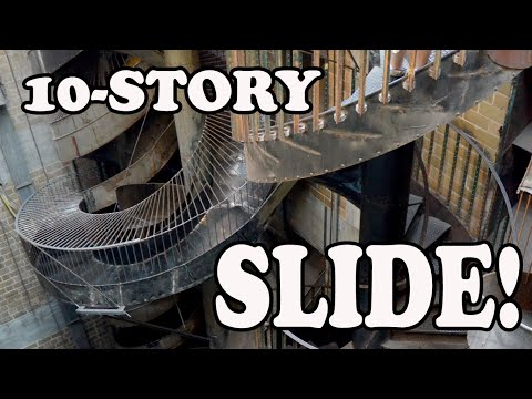 a02908bc61f1 10th Story Drop Slide-City Museum