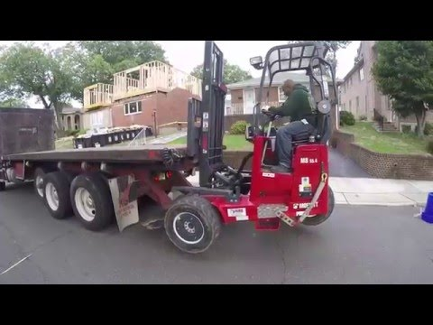 The Delivery - Moffett Forklift/ Residential Remodel By Kuiken Brothers