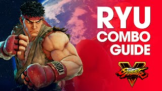 Download Video Street Fighter V: RYU Combo Guide MP3 3GP MP4