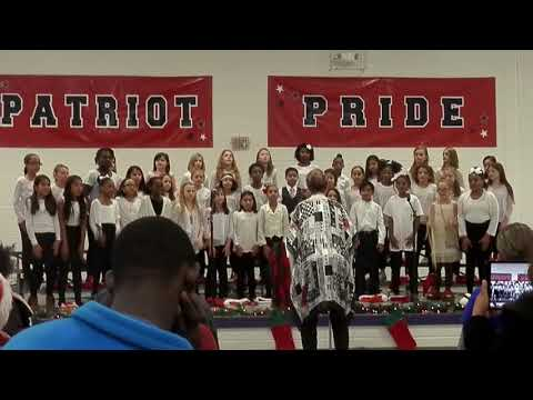 Bill Arp Elementary school Christmas Carols 2016