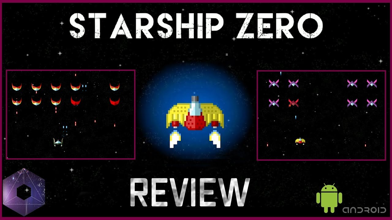 Starship Zero Android Review - The Authentic 8-BIT Retro Space Shooter