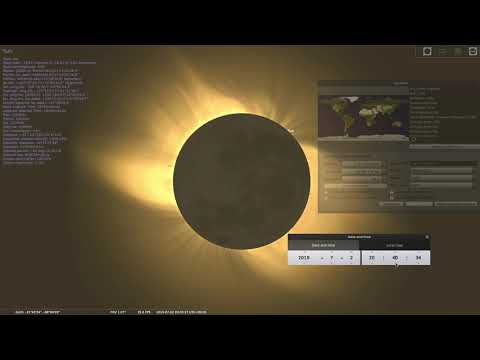 Total solar eclipse July 2nd 2019
