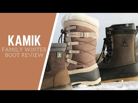 KAMIK WINTER BOOT REVIEWS - Takodalo, William, Snow Valley