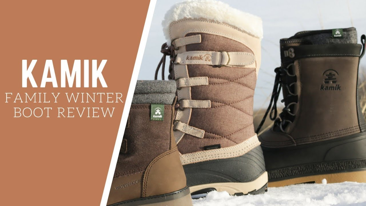 KAMIK WINTER BOOT REVIEWS - Takodalo, William, Snow Valley