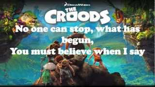 Repeat youtube video Shine Your Way - Owl City & Yuna LYRICS (THE CROODS)