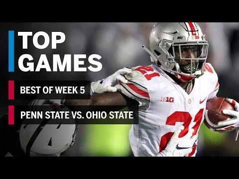 Top Games Of 2018: Week 5   Penn State Nittany Lions Vs. Ohio State Buckeyes   B1G Football