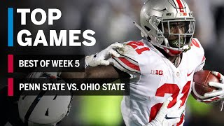 Top Games of 2018: Week 5 | Penn State Nittany Lions vs. Ohio State Buckeyes | B1G Football