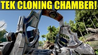 TEK CLONING CHAMBER! (How Not to Be A Noob) -  Ark:Survival Evolved