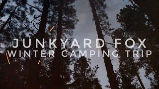 Winter Camping Overnighter Iฑ New Mexico! - Junkyard Fox