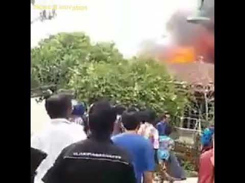 Detik..detik kebakaran di sepinggan balikpapan