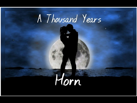 A Thousand Years Horn