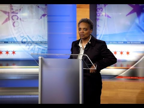 Lori Lightfoot Sworn In As Chicago's First African-American And Openly Gay Female Mayor