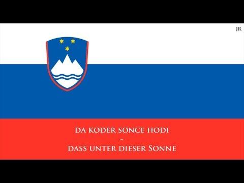 Nationalhymne Von Slowenien (SL/DE Text) - Anthem Of Slovenia (German)