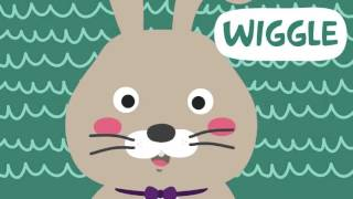 The Way the Bunny Hops   Easter Songs for Children   Easter Bunny Songs for Kids