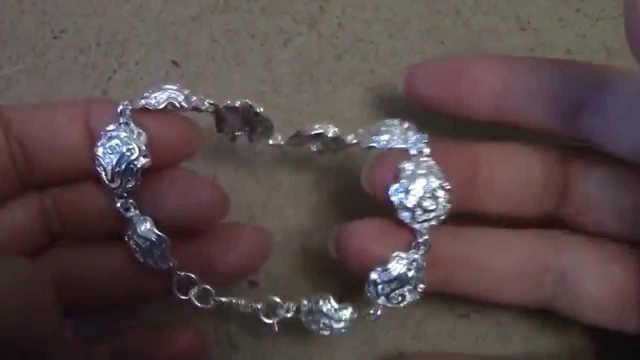 Фото красивые браслеты серебро