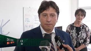 Médico Italiano visita sede do Samu, em Fpolis.