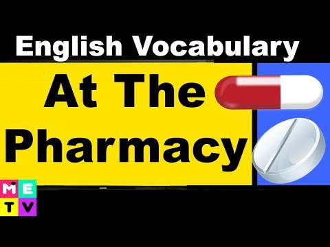 How to Buy Medicine in English | At the Pharmacy 💊