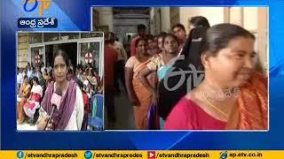 Services hit at hospital as doctors protest | Patients Facing Problems at Guntur Govt Hospital